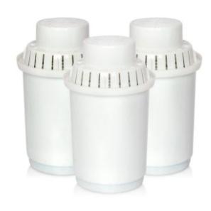 3 Ersatzfilter für Hygea Wasserfilter Kanne